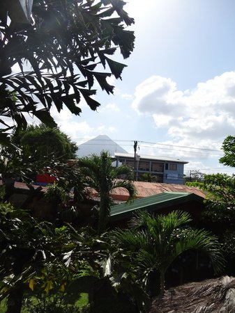 Arenal Hostel Resort: view from the balcony