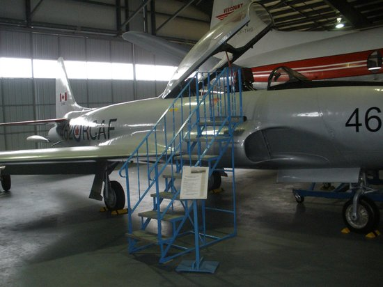 BC Aviation Museum: T-33 Trainer