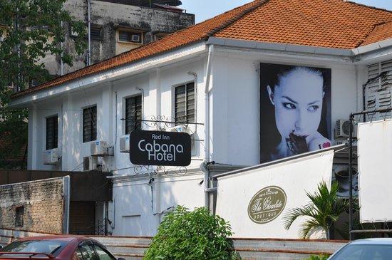 Red Inn Cabana:  facade