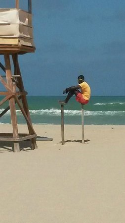 Royal Decameron Boa Vista: One of the lifeguards
