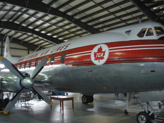 BC Aviation Museum: Vickers Viscount