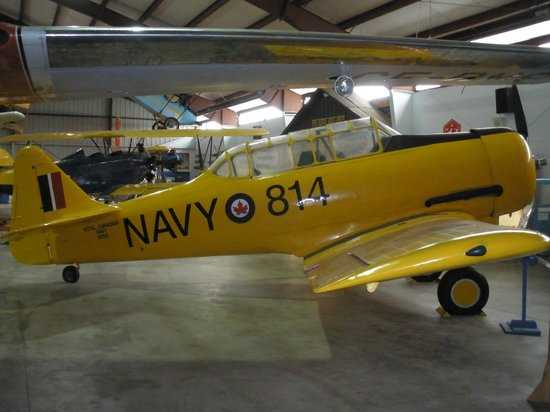BC Aviation Museum: Harvard