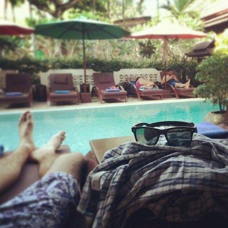 HanumanAlaya Villa: Pool