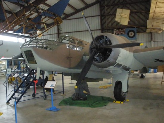 BC Aviation Museum: Beautiful Restored Bomber