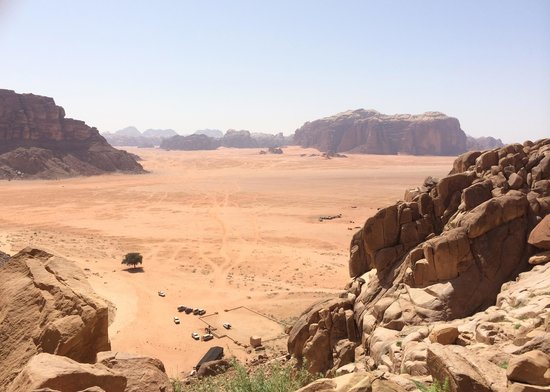 Bedouin Roads : From the top of Lawrence Spring