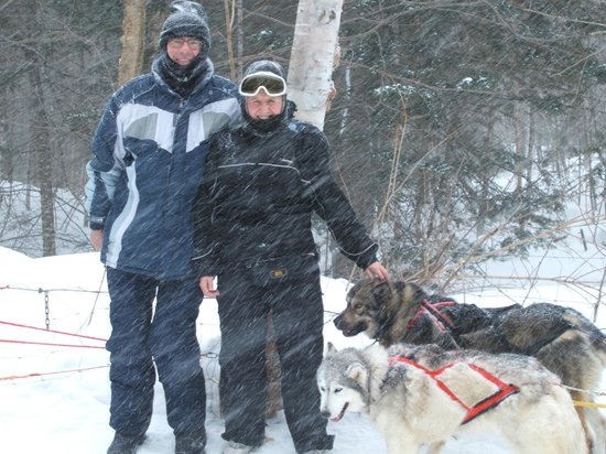 Expedition Wolf: The two of us - in snowstorm!