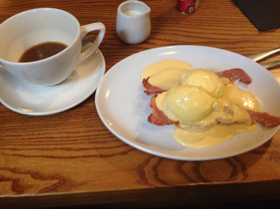 Quay Ingredient: Bulletproof coffee and the eggs Benedict with smoked bacon