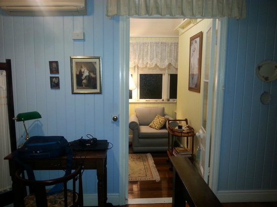 Inglebrae B&B: View into our sitting room from our bedroom