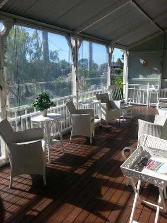 Inglebrae B&B : The balcony