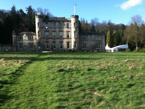 Melville Castle Hotel : View from back of hotel