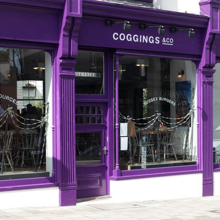 Coggings & Co burger review Brighton