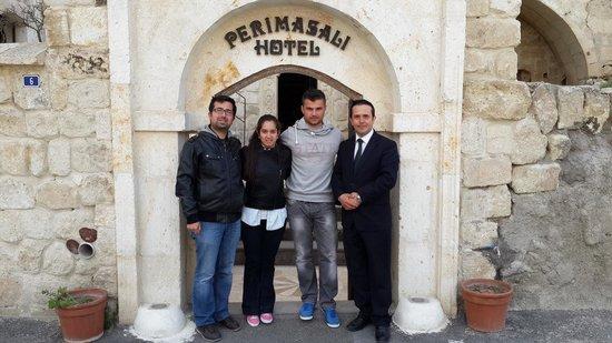 Perimasali Cave Hotel - Cappadocia: Herşey için teşekkürler Oğuz bey :)