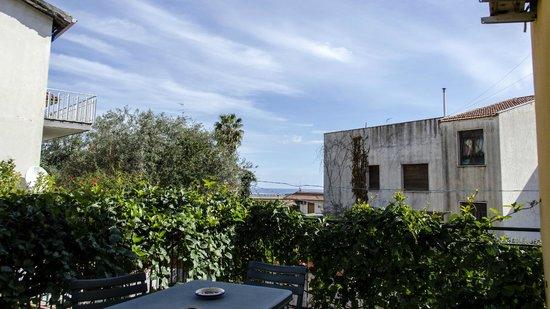 B&B Stella Marina: Vista dal balconcino
