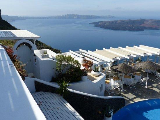 Dana Villas Hotel & Suites: Le volcan