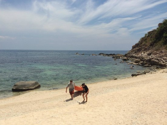 Coral View Resort Thailand: beach
