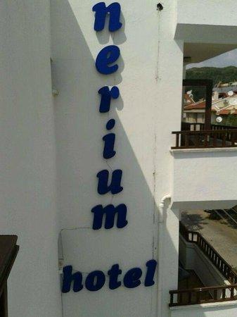 Nerium Hotel: Otel adı