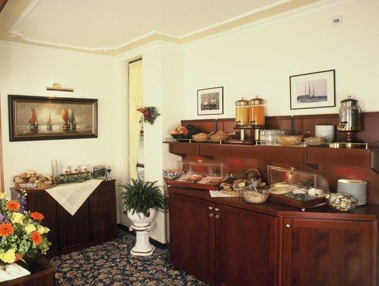 Haus Soldwisch Hotel Garni: Blick auf unser Frühstücksbuffet