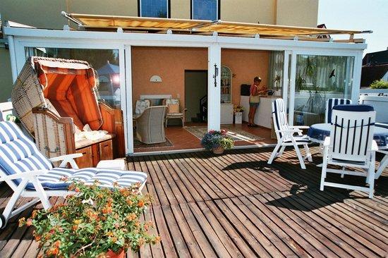 Haus Soldwisch Hotel Garni: Unsere Sonnenterrasse