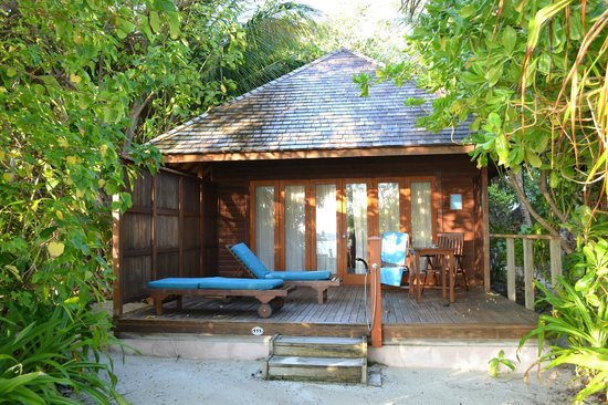 Veligandu Island Resort & Spa : Jacuzzi Beach Villa