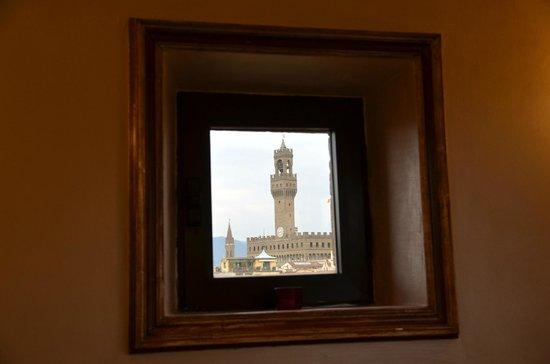 Pitti Palace al Ponte Vecchio : No es un cuadro es una ventana