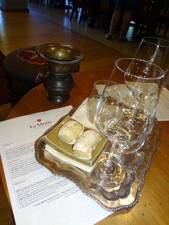 La Motte Wine Estate : Wine Tasting