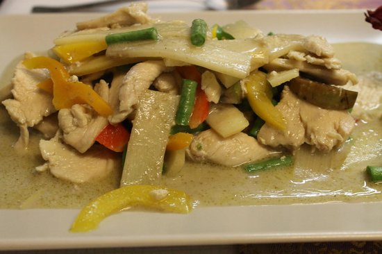 Restaurant Ronni: green curry