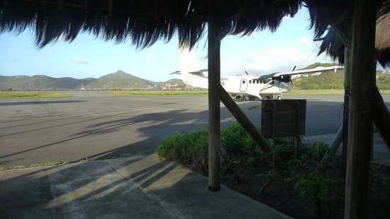 Tamarind Beach Hotel & Yacht Club: The Plane!