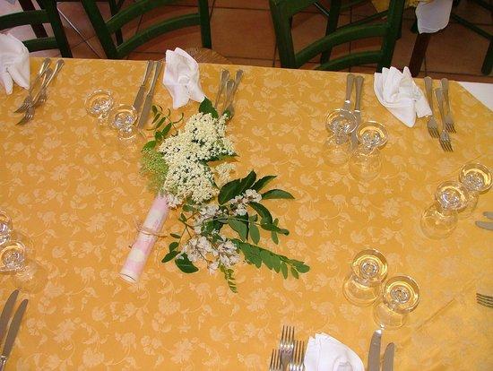 Agrituristica La Ginestra: preparazioni in tavola