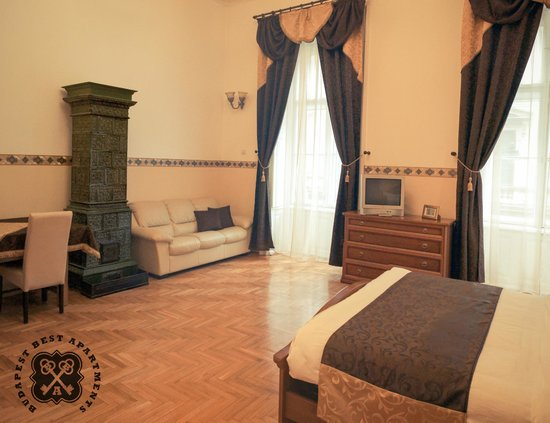 Budapest Best Apartments: Deluxe Apartment