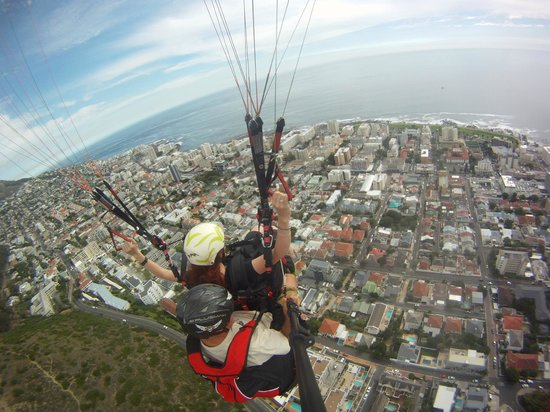 Cape Town Tandem Paragliding: Beautiful views!!