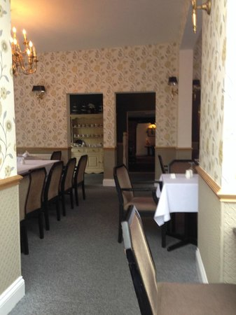 The Jacobean Hotel: The Dining Room