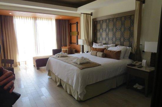 Now Amber Puerto Vallarta: Notre chambre avec vue sur la mer