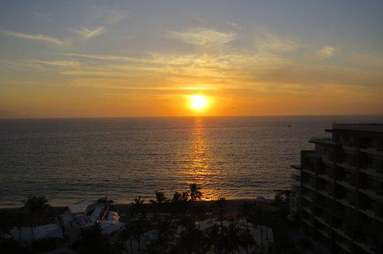 Now Amber Puerto Vallarta: Coucher de coleil de notre chambre