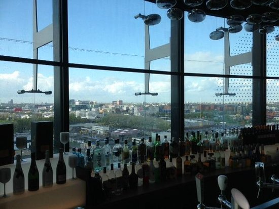 Fletcher Hotel Amsterdam: View from the bar