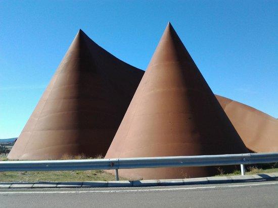 Hotel Restaurante Masia la Torre: going to Teruel from Mora de Rubielos