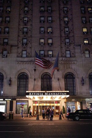 Stewart Hotel : Front of Affinia