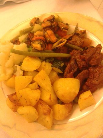 Monaco & Quisisana Hotel: More food
