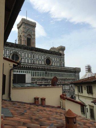 Hotel Duomo Firenze : Vistas desde la terraza