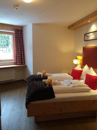 Castello Königsleiten: Schlafzimmer