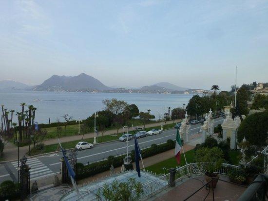 Grand Hotel des Iles Borromées & SPA : Vue sur le lac Majeur