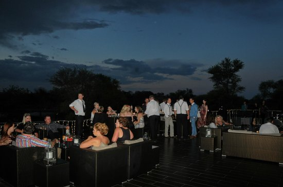 Palala Boutique Game Lodge and Spa: Terrace
