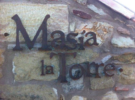 Hotel Restaurante Masia la Torre : the logo