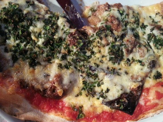 La Pizza Cresci : Aubergine (eggplant)