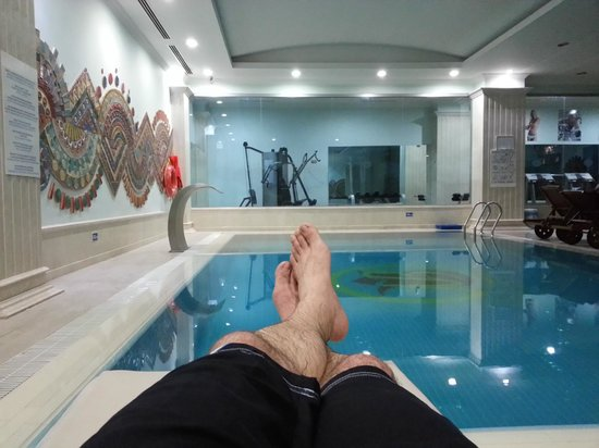 Bilem High Class Hotel : Swimming pool