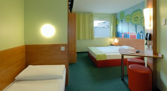 B&B Hotel Darmstadt: Familienzimmer für 3 Personen