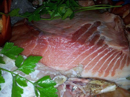Restaurante Casa Dieguichi: Ventresca de atún