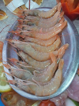 Restaurante Casa Dieguichi: Gamba Blanca