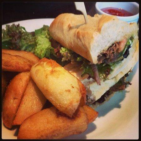 Delifonseca Dockside: Po' Boy sandwich