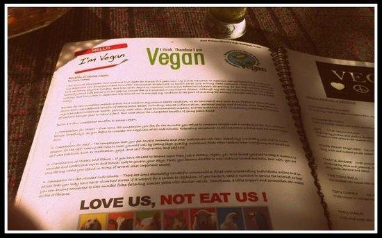 60's (Cafe Delmar/Beatles Cafe): go vegan