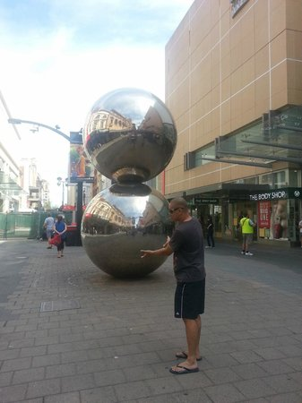 Rundle Mall: Balls here one day...